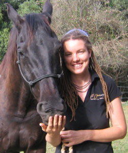 Zoe Dodds with Horse